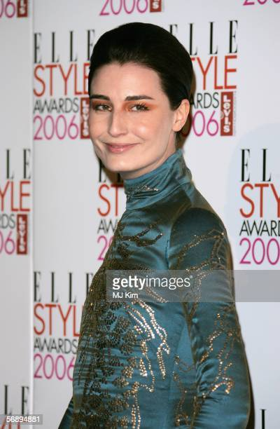 Model Erin O'Connor arrives at the ELLE Style Awards 2006 the fashion magazine's annual awards celebrating style at the Atlantis Gallery at the Old...