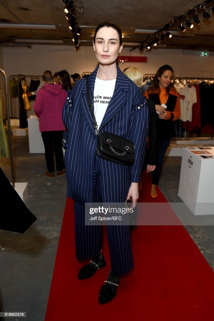 LFW Press Conference - LFW February 2018