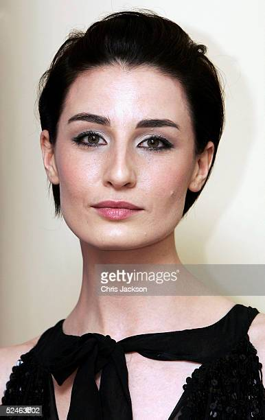 Model Erin O'Connor attends the 'Lighthouse Gala Auction' event raising money for HIV and AIDS charity the Terrence Higgins Trust at Christie's on...