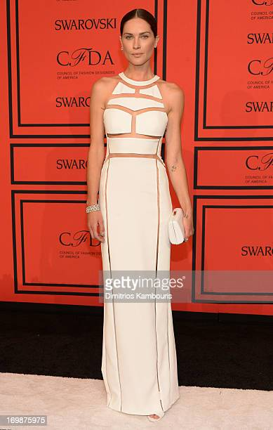 Model Erin Wasson attends 2013 CFDA Fashion Awards at Alice Tully Hall on June 3 2013 in New York City