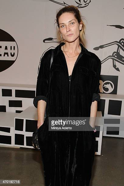 Model Erin Wasson attends the Rochambeau presentation during MADE Fashion Week Fall 2014 at Milk Studios on February 9 2014 in New York City