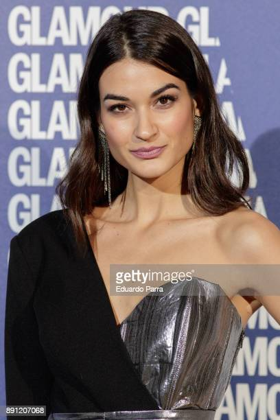 Model Estela Grande attends the Glamour Magazine Awards photocall at Ritz hotel on December 12 2017 in Madrid Spain