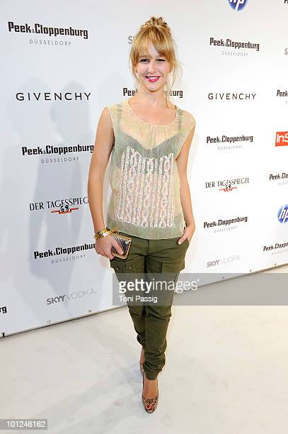 Model Esther Seibt attends the 'Sex And The City 2' movie night at the Peek Cloppenburg flagship store on May 28 2010 in Berlin Germany
