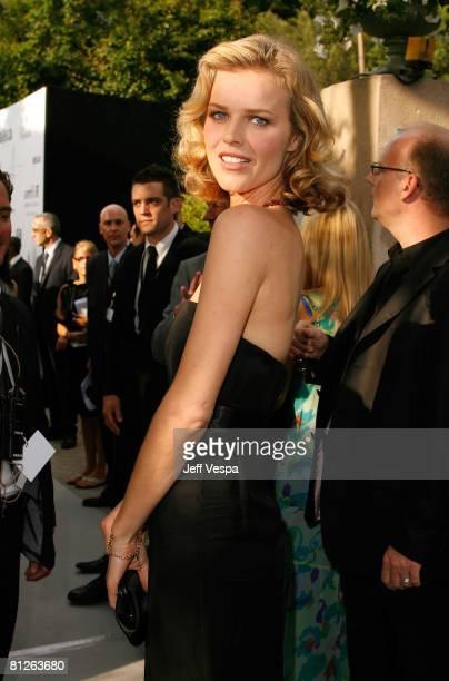 Model Eva Herzigova arrives at amfAR's Cinema Against AIDS 2008 benefit held at Le Moulin de Mougins during the 61st International Cannes Film...