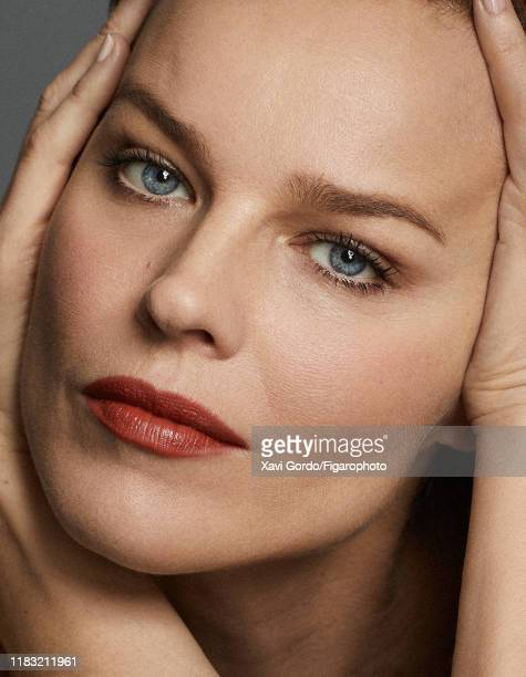 Model Eva Herzigova is photographed for Madame Figaro on May 18 2019 in Cannes France Makeup by Dior PUBLISHED IMAGE CREDIT MUST READ Xavi...