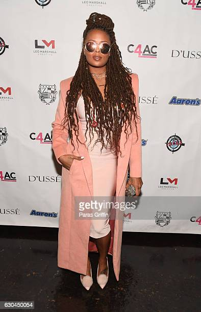 Model Eva Marcille attends 9th Annual Celebration 4 A Cause Fashion Show at King Plow Arts Center on December 22 2016 in Atlanta Georgia