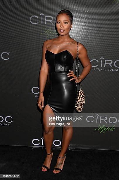 Model Eva Marcille attends Sean Diddy Combs Exclusive Birthday Celebration Presented By CIROC Vodka on November 22 2015 in Beverly Hills California