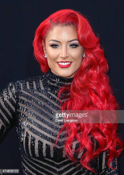 Model Eva Marie Attends The Premiere Of Warner Bros Pictures San Andreas At