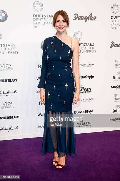 Model Eva Padberg attends the Duftstars 2016 at Kraftwerk Mitte on May 12 2016 in Berlin Germany