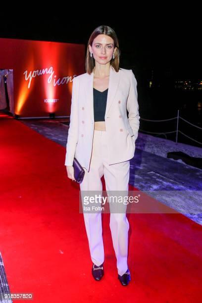 Model Eva Padberg attends the Young ICONs Award in cooperation with ICONIST at BRLO Brwhouse on February 14 2018 in Berlin Germany