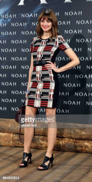 Model Eva Padberg aufgenommen bei der Premiere des Films Noah im Kino Zoo Palast in Berlin