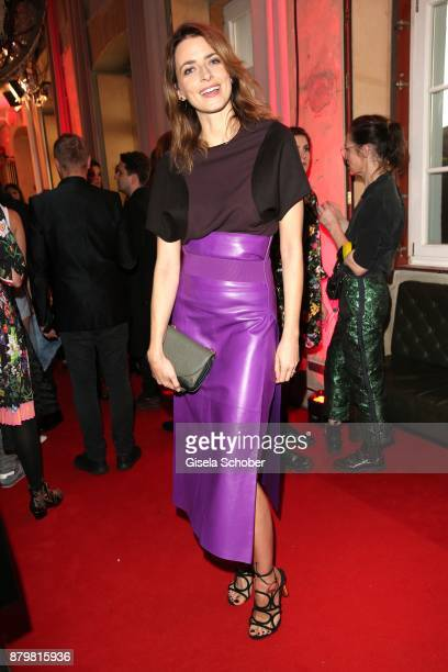 Model Eva Padberg during the New Faces Award Style 2017 at 'The Grand' hotel on November 15 2017 in Berlin Germany