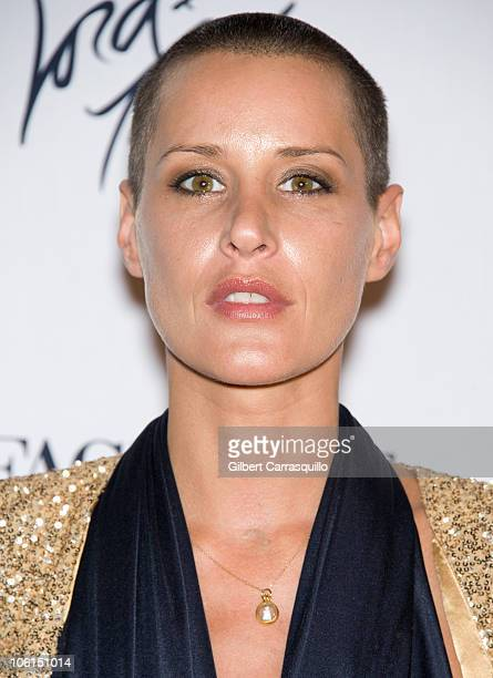 Model Eve Salvail attends The Lord Taylor 'Ultimate FaceLift' Celebration at Lord Taylor on October 26 2010 in New York City