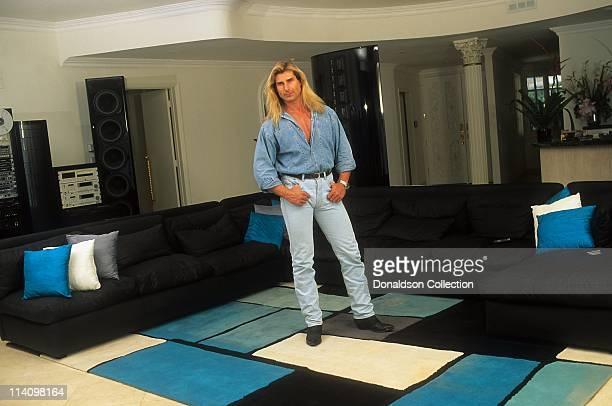 Model Fabio aka Fabio Lanzoni poses for a portrait in 1996 in Los Angeles California