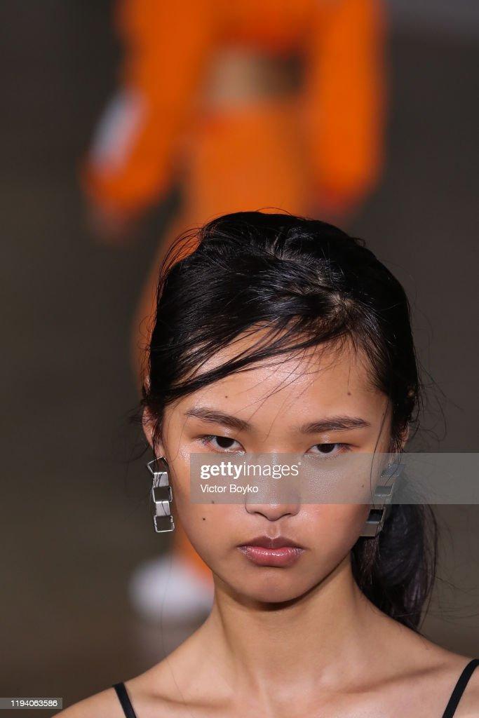 Heron Preston : Runway - Paris Fashion Week - Menswear F/W 2020-2021 : ニュース写真