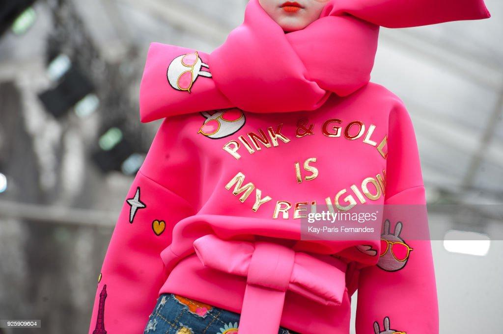 Manish Arora : Runway - Paris Fashion Week Womenswear Fall/Winter 2018/2019 : News Photo