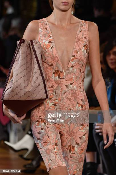 A model fashion detail walks the runway during the Stella McCartney show as part of the Paris Fashion Week Womenswear Spring/Summer 2019 on October 1...