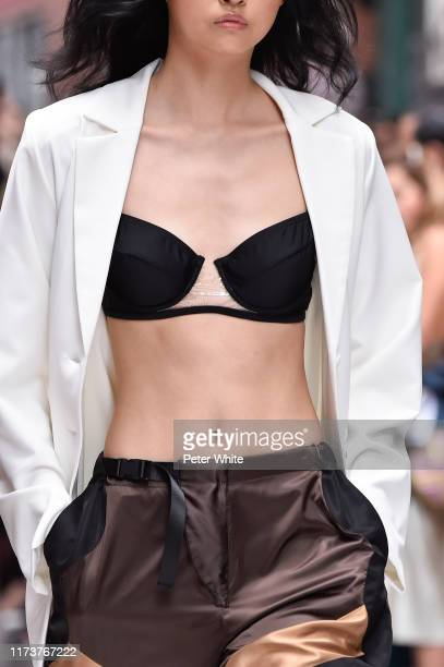 A model fashion detail walks the runway for Cynthia Rowley during New York Fashion Week The Shows on September 10 2019 in New York City