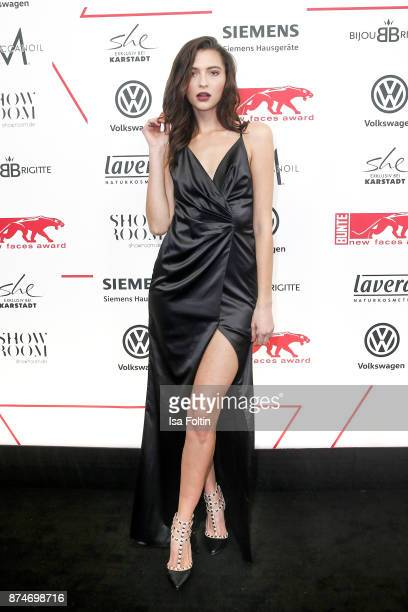 Model Fata Hasanovic attends the New Faces Award Style 2017 at The Grand on November 15 2017 in Berlin Germany
