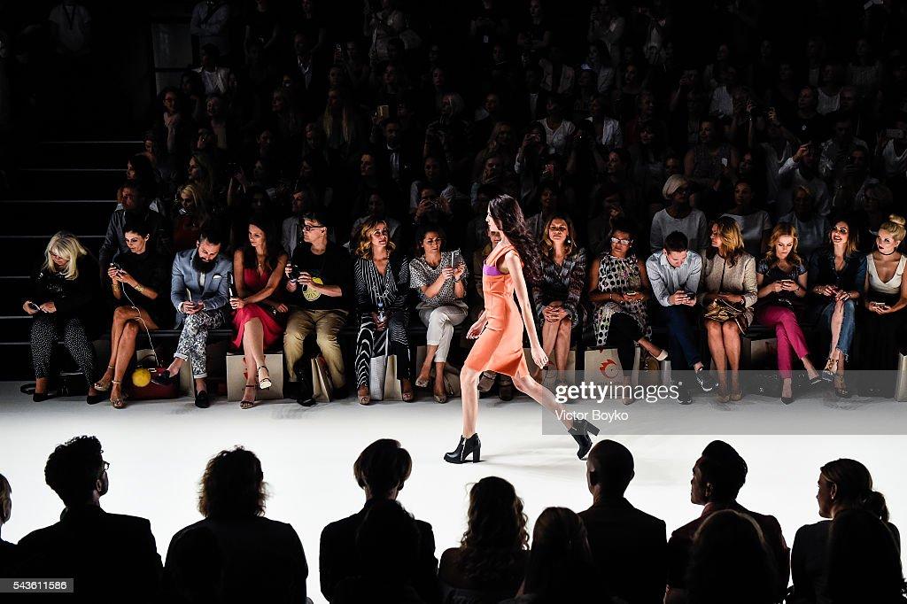 Anja Gockel Show - Mercedes-Benz Fashion Week Berlin Spring/Summer 2017