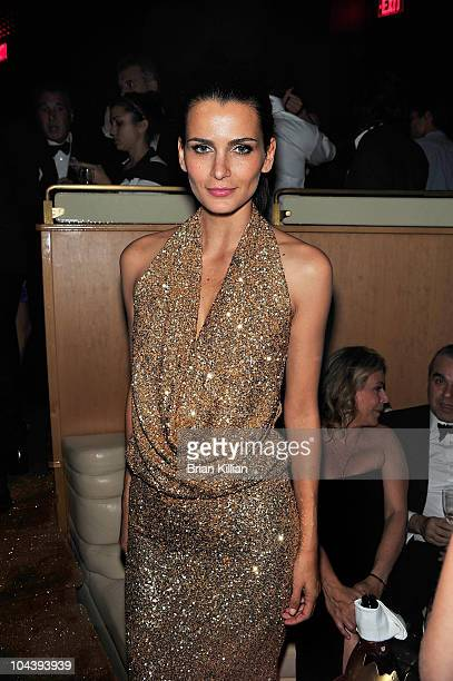 Model Fernanda Motta attends the 8th annual Brazil Foundation Gala after party at the Boom Boom Room on September 23 2010 in New York City