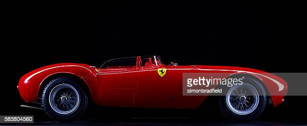 model ferrari 375 plus - ferrari stock pictures, royalty-free photos & images