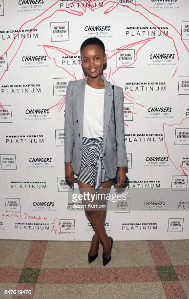 Model Flaviana Matata attends as Opening Ceremony and American Express Platinum celebrate the closing night of Changers A Dance Story with a soldout...