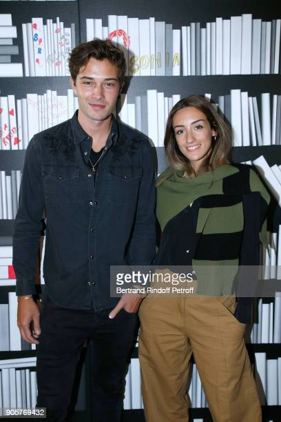 Model Francisco Lachowski and Fashion Blogger Kenza Sadoun attend the Manifesto Sonia Rykiel 5Oth Birthday Party at the Flagship Store Boulevard...