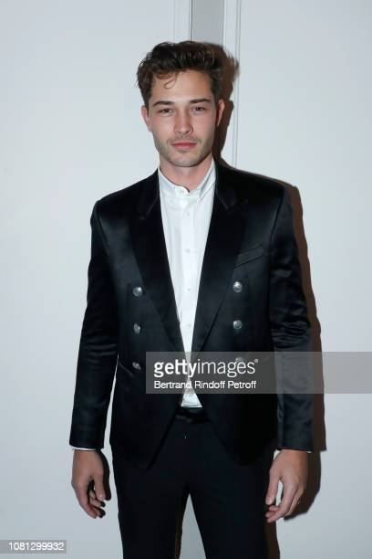 Model Francisco Lachowski attends the Annual Charity Dinner hosted by the AEM Association Children of the World for Rwanda at Pavillon Ledoyen on...