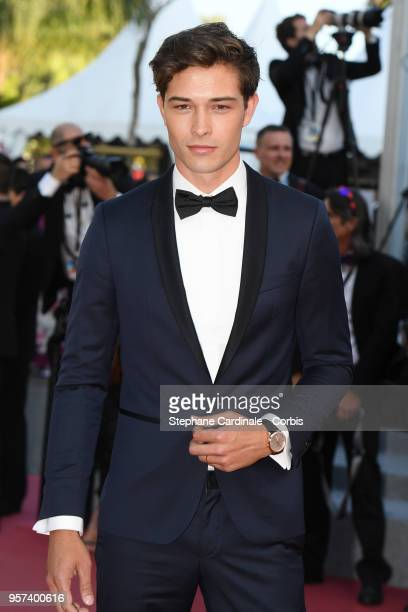 Model Francisco Lachowski attends the screening of Ash Is The Purest White during the 71st annual Cannes Film Festival at Palais des Festivals on May...