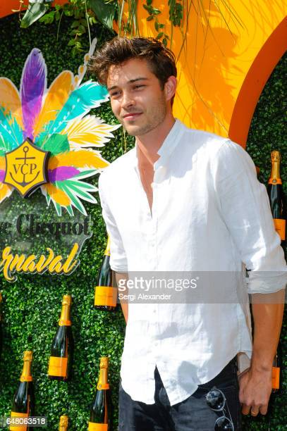 Model Francisco Lachowski attends Veuve Clicquot hosts Third Annual Clicquot Carnaval supporting the Perez Art Museum Miami in Museum Park on March 4...