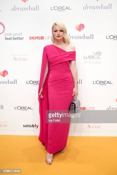 Model Franziska Knuppe attends the Dreamball 2018 at WECC Westhafen Event Convention Center on September 19 2018 in Berlin Germany