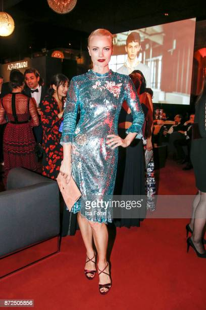 Model Franziska Knuppe attends the GQ Men of the year Award 2017 after show party at Komische Oper on November 9 2017 in Berlin Germany