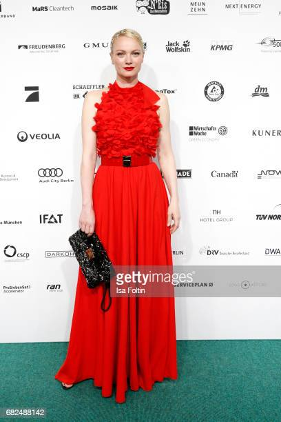 Model Franziska Knuppe attends the GreenTec Awards at ewerk on May 12 2017 in Berlin Germany