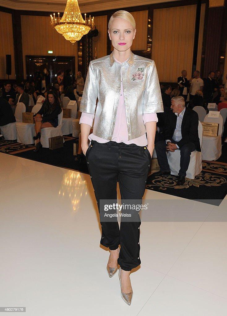Model Franziska Knuppe attends the MICHALSKY StyleNite 2015 at Ritz Carlton on July 10, 2015 in Berlin, Germany.