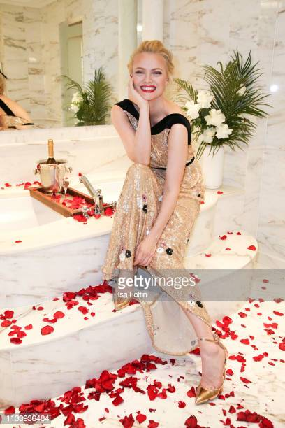 Model Franziska Knuppe during the Ritz Carlton Berlin ReOpening Party at Ritz Carlton on March 5 2019 in Berlin Germany