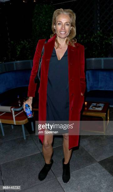 Model Frederique van der Wal attends the screening after party for Marvel Studios' 'Thor Ragnarok' hosted by The Cinema Society with FIJI Water Men's...