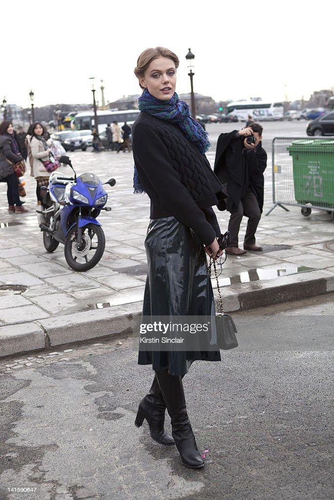 Street Style At Paris Fashion Week 2012 - March 6, 2012