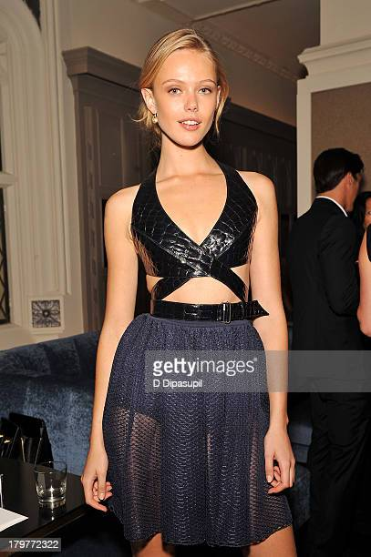 Model Frida Gustavsson attends The Daily Front Row's Fashion Media Awards at Harlow on September 6 2013 in New York City