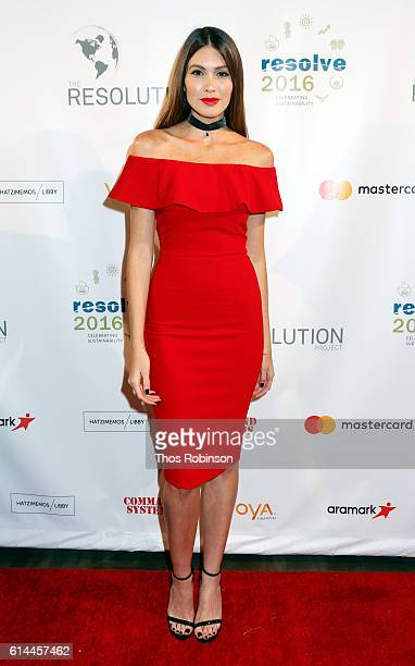 Model Gabriela Isler attends The Resolution Project's Resolve 2016 Gala at The Harvard Club of New York on October 13 2016 in New York City