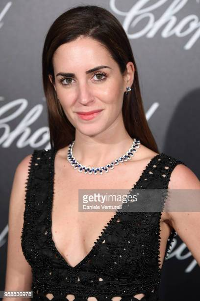 Model Gala Gonzalez attends the Chopard Trophy during the 71st annual Cannes Film Festival at Martinez Hotel on May 14 2018 in Cannes France