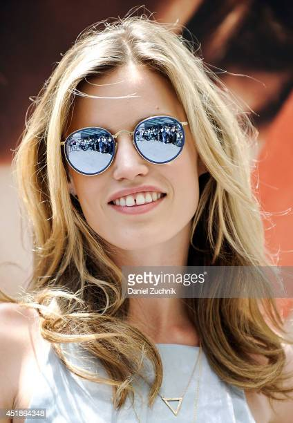 Model Georgia May Jagger attends Georgia May Jagger's Sunglass Hut Campaign Unveiling on July 8 2014 in New York City