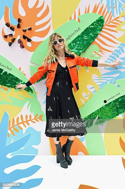 Model Georgia May Jagger attends Refinery29 x Sunglass Hut Shades Of You on June 16 2016 in New York City