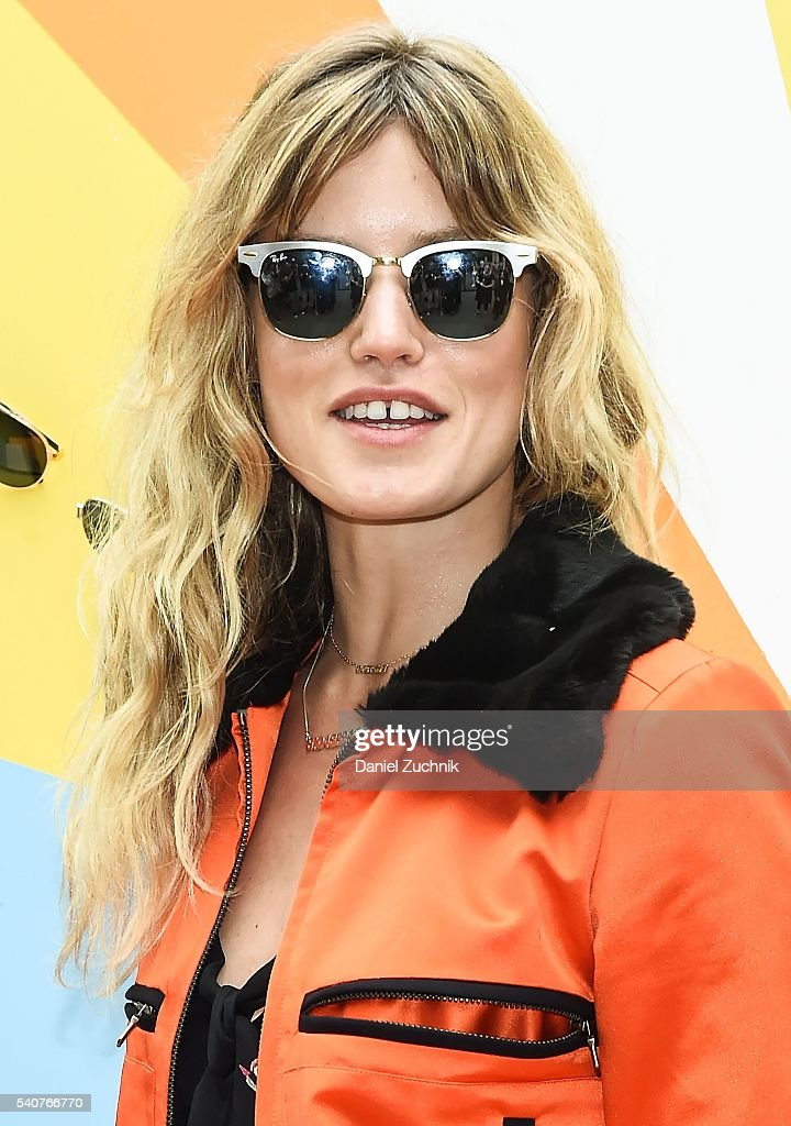 2a6937e8233 Model Georgia May Jagger attends Refinery29 x Sunglass Hut  Shades ...
