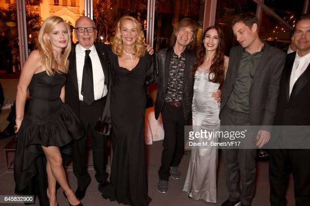 Model Georgia May Jagger News Corp Executive Chairman Rupert Murdoch model Jerry Hall musician Mick Jagger model Elizabeth Jagger actor James Jagger...