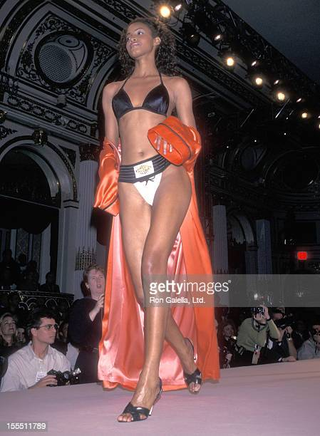 Model Georgianna Robertson attends the Third Annual Victoria's Secret Spring Fashion Show on February 4, 1997 at The Plaza Hotel in New York City.