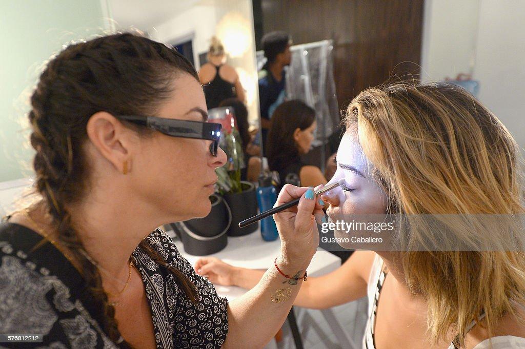 FL: San Lorenzo Bikinis 2017 Collections at SwimMiami - Backstage
