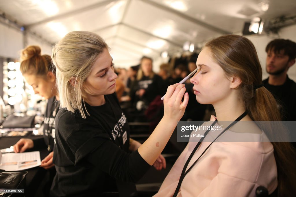 Ewa Herzog Backstage - MBFW Berlin January 2018
