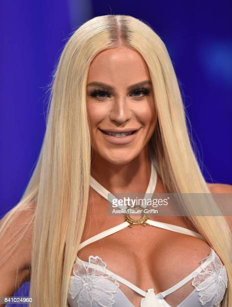 Model Gigi Gorgeous arrives at the 2017 MTV Video Music Awards at The Forum on August 27 2017 in Inglewood California