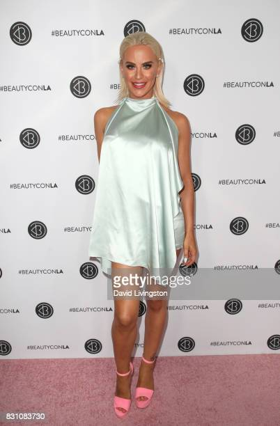 Model Gigi Gorgeous attends Day 2 of the 5th Annual Beautycon Festival Los Angeles at the at Los Angeles Convention Center on August 13 2017 in Los...